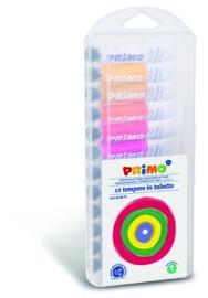PRIMO - Fijne plakkaatverf in tube (12x12ml) in box