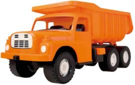 TATRA 148 Zandbak Kipper vrachtwagen oranje