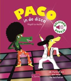 Geluidenboek PACO in de disco