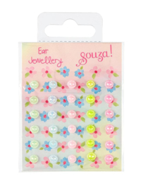 Souza - Oorstickers bloemetjes