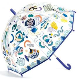 DJECO - Magische paraplu doorzichtig vissen