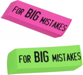 XXl gum For BIG mistakes