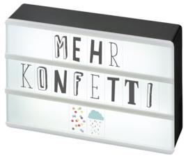 MOSES - Lichtbox DIY met letters&cijfers