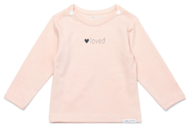 Noppies Longsleeve 'Love' Peach