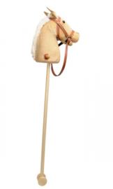 Stokpaard corduroy met geluid