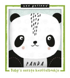 Wee Gallery knuffelboekje Panda