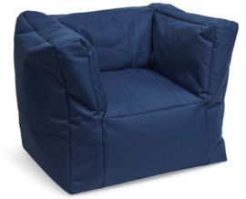 Jollein Kinderfauteuil Beanbag - Jeans Blue