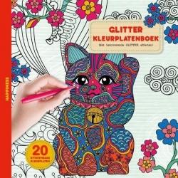 Glitterkleurplatenboek - Happiness