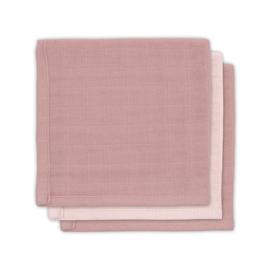 JOLLEIN - Monddoekje hydrofiel - Bamboo pale Pink - 3 Stuks