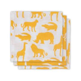 JOLLEIN - Hydrofiel 70x70 Safari Yellow