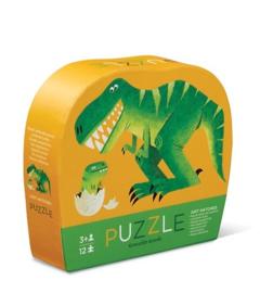 Crocodile Creek Puzzel - 12 stukjes Dinosaurus