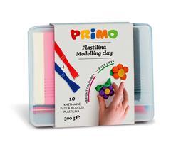 PRIMO - 10 kleuren zachte klei (10 x 30 gram)