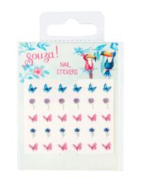 Souza - Nagelstickers Vlinders