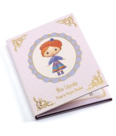 Djeco - Miss Lilyruby boekje met herbruikbare stickers