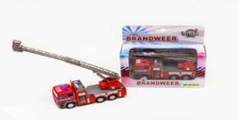 KidsGlobe Ladderwagen brandweer