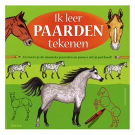 Boek - Ik leer paarden tekenen!