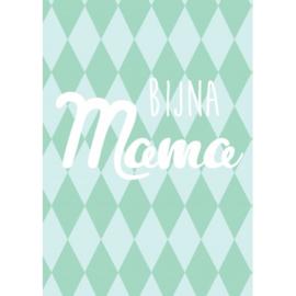 Postkaart - Bijna Mama - Zwangerschapsverlof
