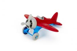 Greentoys vliegtuig  rood