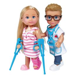 Evi Love pop met dokter