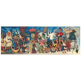 Djeco Puzzel Gallery - Fantasy Orchestra
