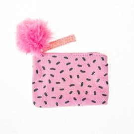 Roze portemonnee