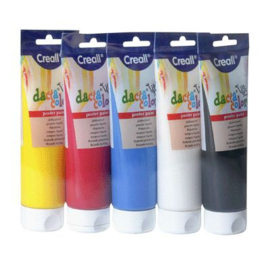Creall Plakkaatverf Tube Assortiment 5x250ml