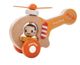 PLANTOYS -Gele helicopter