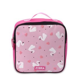 Zebra Girls rugzak roze zwanen