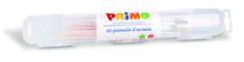 PRIMO - 10 kunstenaarspenselen plat en rond