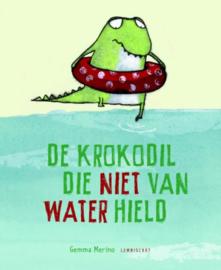 Prentenboek - De krokodil die niet van water hield