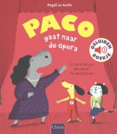 Geluidenboek PACO gaat naar de opera