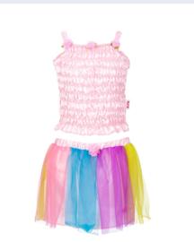 Souza for Kids - Melody set top+rok, rainbow (3 jaar)