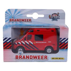 KidsGlobe - Brandweer NL (pull back) klein
