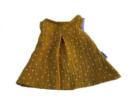 Minikane Poppenjurk ochre dots - Hollie