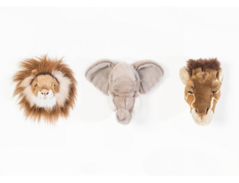 Wild&Soft safari dierenhoofden giftbox