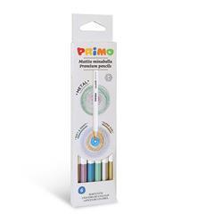 PRIMO - 6 metalic Minabella kleurpotloden