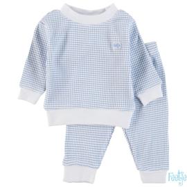 Feetje wafel pyjama blue