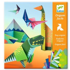 DJECO - Eenvoudige Origami Dinosaurus