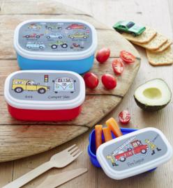 Snackbox set van 3 - Voertuigen