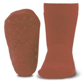 Anti-slip sokslof Ewers koper rood