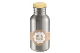 Blafre RVS fles 500 ml licht geel