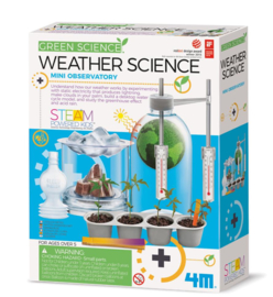 4 M - WEATHER SCIENCE - STEM Green Science