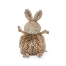 Bunnies By The Bay - Roly Poly knuffel  konijn bruin