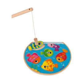 Magnetisch spel met kleurrijke vissen