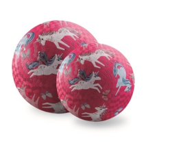 Crocodile Creek 13 cm Rubberen bal - Unicorn Magic