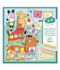 DJECO - Creëren met stickers