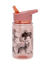 Petit Monkey Drinkbeker Desert Pink Black Animals