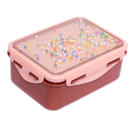 Petit Monkey lunchbox marcaron pops - dessert roze