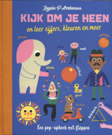 Kartonboek - Ingela P Arrhenius - Kijk om je heen