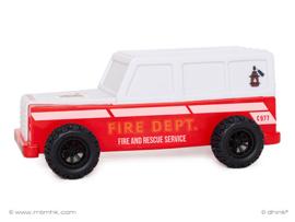 LED nachtlamp brandweerauto